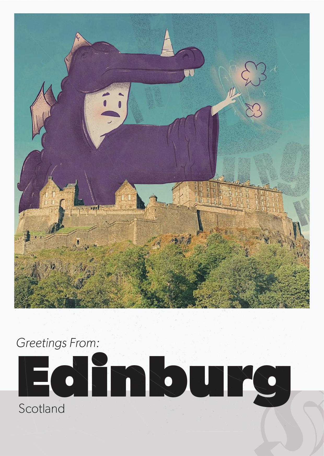 PostCard_Edinburgh